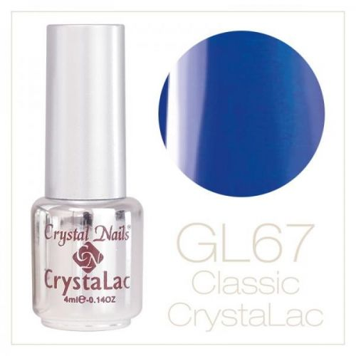 Crystal Nails - CrystaLac  GL67 - Denim Blue 4ml