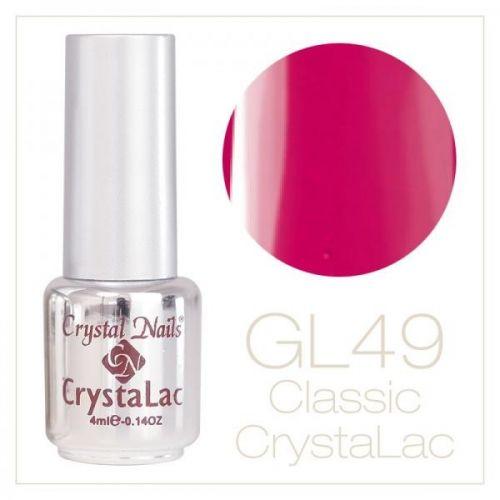 Crystal Nails - CrystaLac GL49 - Active Honeysuckle 4ml