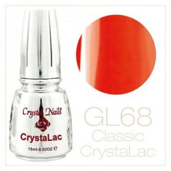 Crystal Nails - CrystaLac GL68 - Orange 15ml