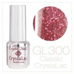 Crystal Nails - CrystaLac GL300 - Brilliant Rose 4ml
