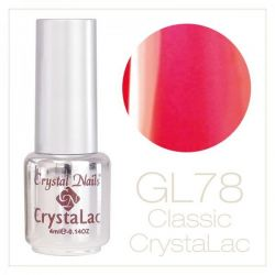 Crystal Nails - CrystaLac GL78- Neon Pink & Peach 4ml
