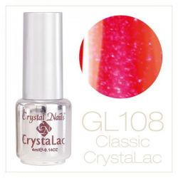 Crystal Nails - CrystaLac GL108 - Bright Red 4ml