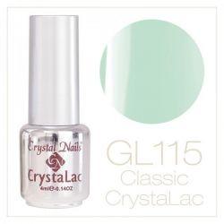 Crystal Nails - CrystaLac GL115 - Light Green 4ml