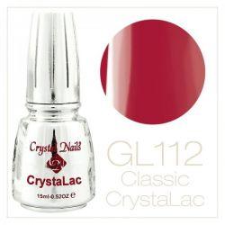 Crystal Nails - CrystaLac - GL112 Playful Poppy (15ml)