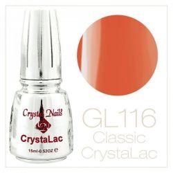 Crystal Nails - CrystaLac GL116 - Smiling Nectarine 15ml