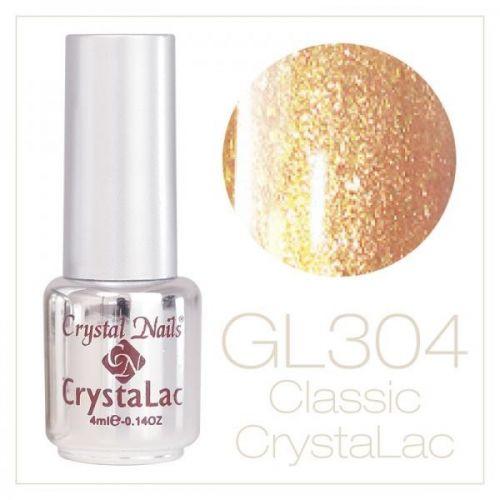 Crystal Nails - CrystaLac GL304 - Brilliant Bronze 4ml