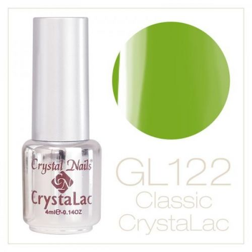 Crystal Nails - CrystaLac Neon GL122 - Mar verde (4ml)