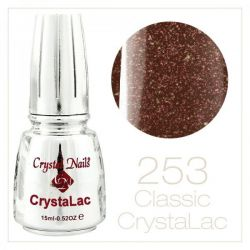 Crystal Nails - CrystaLac GL253 - Flash Bordeaux 15ml