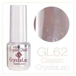 Crystal Nails - CrystaLac GL62 - Grey Brown 4ml