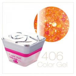 Crystal Nails - Color Gel 406 - efect pink ( 5ml )