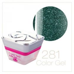Crystal Nails- Color gel 281- FLASH (5ml)