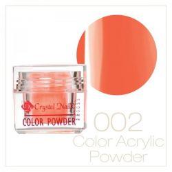 Crystal Nails - Praf acrylic colorat - 02 - portocaliu - 7g
