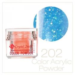 CRYSTAL NAILS - Praf Acrilic Colorat FLY-BRILL - Nr.202 (7g)