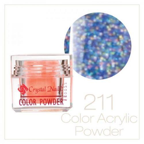 CRYSTAL NAILS - Praf Acrilic Colorat FLY-BRILL - Nr.211 (7g)