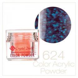 CRYSTAL NAILS - Praf Acrilic Colorat NEON CRYSTAL - Nr.624 (7g)