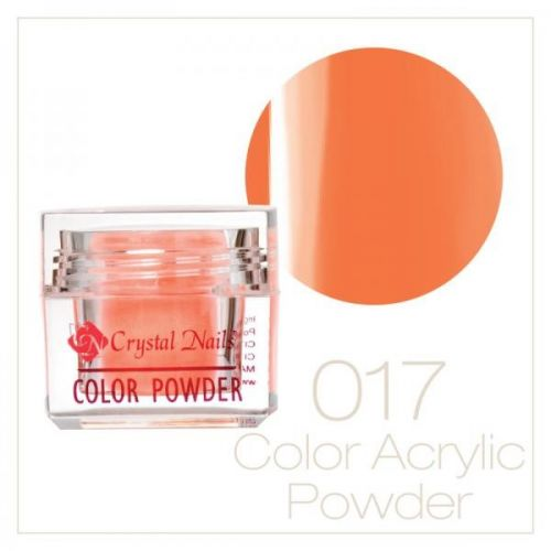 Crystal Nails - Praf acrylic colorat - 17 - Portocaliu neon  7g