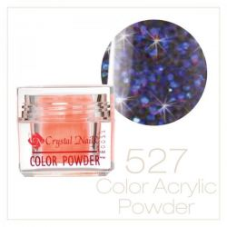 Crystal Nails - Praf acrylic colorat - 527 - Mov irizat brilliant  7g