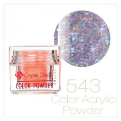 Crystal Nails - Praf acrylic colorat - 543 - Mov brilliant  7g