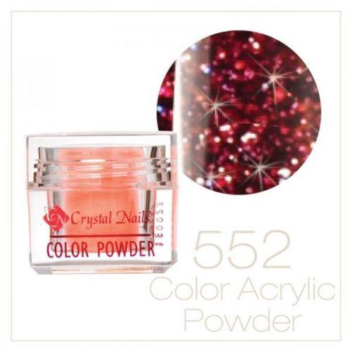 CRYSTAL NAILS - Praf acrylic colorat - 552-  7g