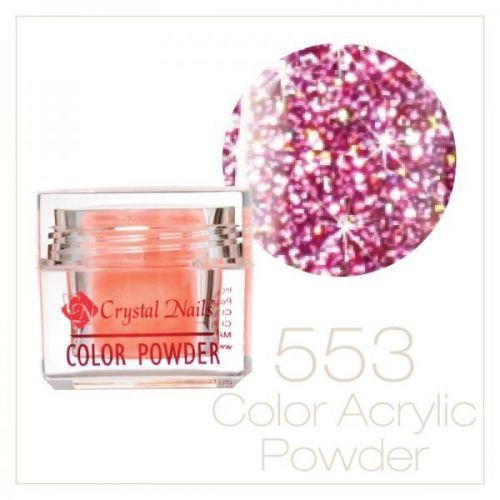 CRYSTAL NAILS - Praf acrylic colorat - 553-  7g