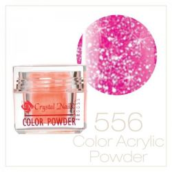 CRYSTAL NAILS - Praf acrylic colorat - 556 -  7g