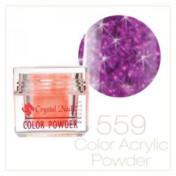 CRYSTAL NAILS - Praf acrylic colorat - 559 -  7g