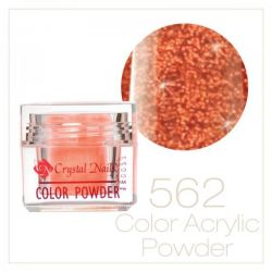 CRYSTAL NAILS - Praf acrylic colorat - 562 -  7g