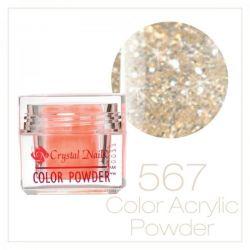 CRYSTAL NAILS - Praf acrylic colorat - 567 -  7g