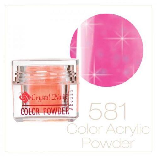 CRYSTAL NAILS - Praf acrylic colorat - 581 -  7g