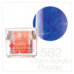 CRYSTAL NAILS - Praf acrylic colorat - 582 -  7g