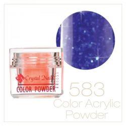 CRYSTAL NAILS - Praf acrylic colorat - 583 -  7g