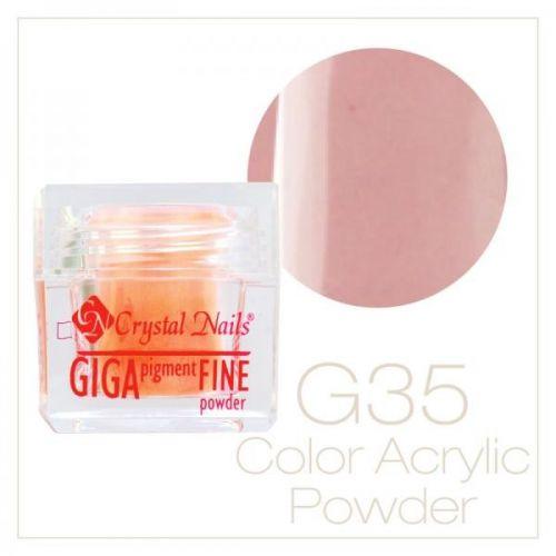 CRYSTAL NAILS - Praf acrylic colorat - 35 -  7g