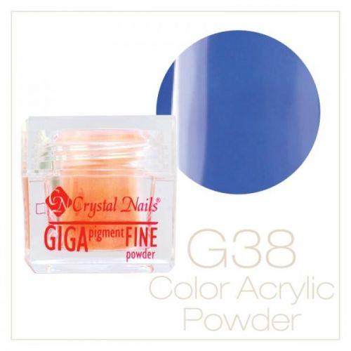 CRYSTAL NAILS - Praf acrylic colorat - 38 -  7g