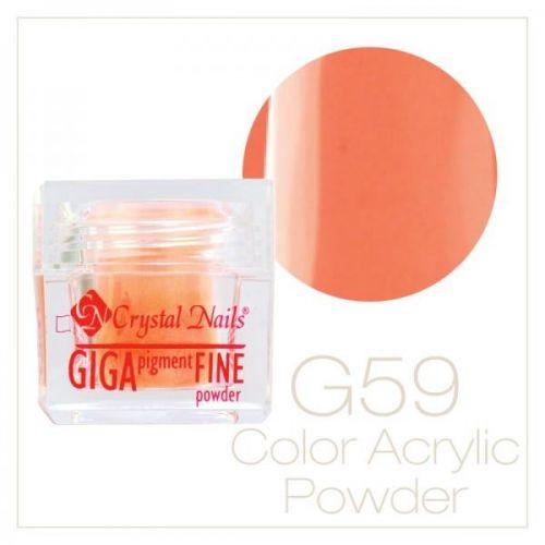 CRYSTAL NAILS - Praf acrylic colorat - 59 - 7g