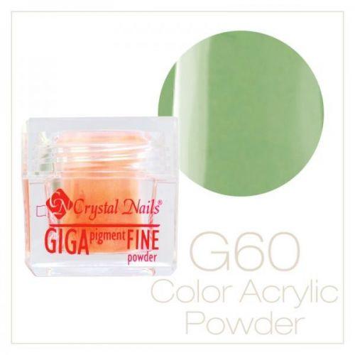 CRYSTAL NAILS - Praf acrylic colorat - 60 - 7g