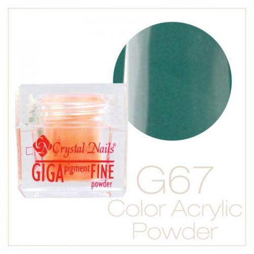 CRYSTAL NAILS - Praf acrylic colorat - 67 - 7g