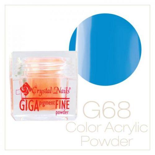 CRYSTAL NAILS - Praf acrylic colorat - 68 - 7g