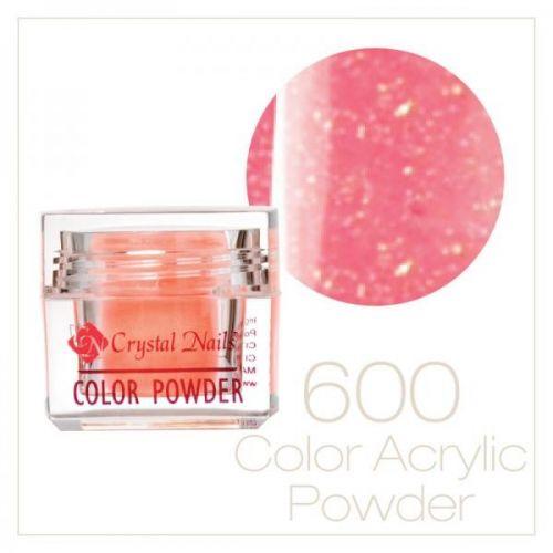 CRYSTAL NAILS - Praf acrylic colorat - 600 - 7g