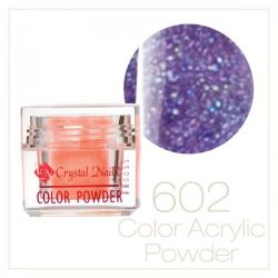 CRYSTAL NAILS - Praf acrylic colorat - 602 - 7g