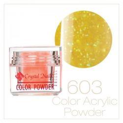 CRYSTAL NAILS - Praf acrylic colorat - 603 - 7g