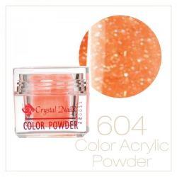 CRYSTAL NAILS - Praf acrylic colorat - 604 - 7g