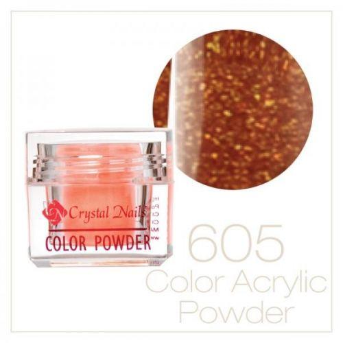 CRYSTAL NAILS - Praf acrylic colorat - 605 - 7g