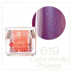 Crystal Nails - Praf acrylic colorat - 619 (7g)