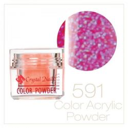 CRYSTAL NAILS - Praf acrylic colorat - 591 - 7g