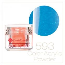 CRYSTAL NAILS - Praf acrylic colorat - 593 - 7g