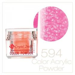 CRYSTAL NAILS - Praf acrylic colorat - 594 - 7g