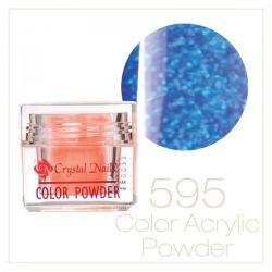 CRYSTAL NAILS - Praf acrylic colorat - 595 - 7g