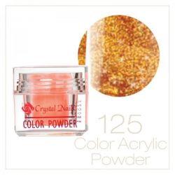 CRYSTAL NAILS - Praf acrylic colorat - 125 - 7g