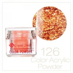 CRYSTAL NAILS - Praf acrylic colorat - 126 - 7g