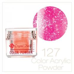 CRYSTAL NAILS - Praf acrylic colorat - 127 - 7g